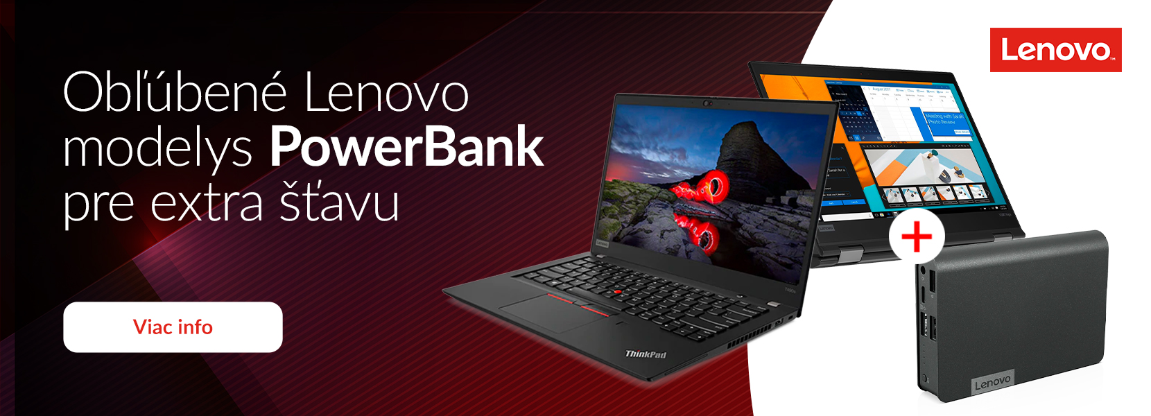 Lenovo + powerbank